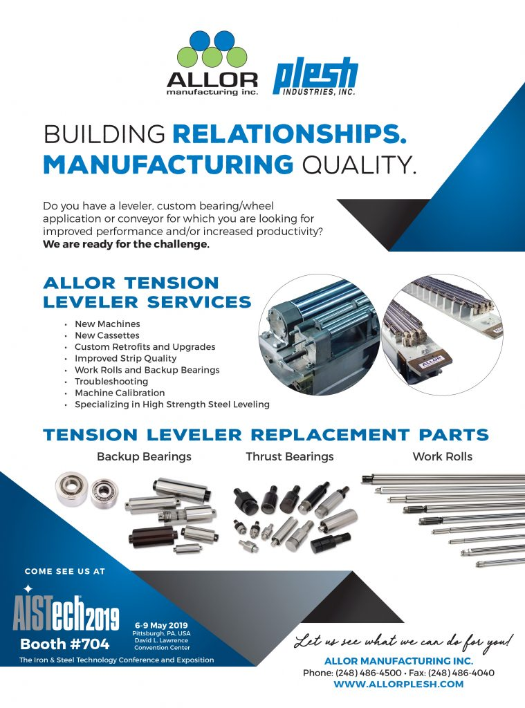 Iron & Steel March 2019 Ad