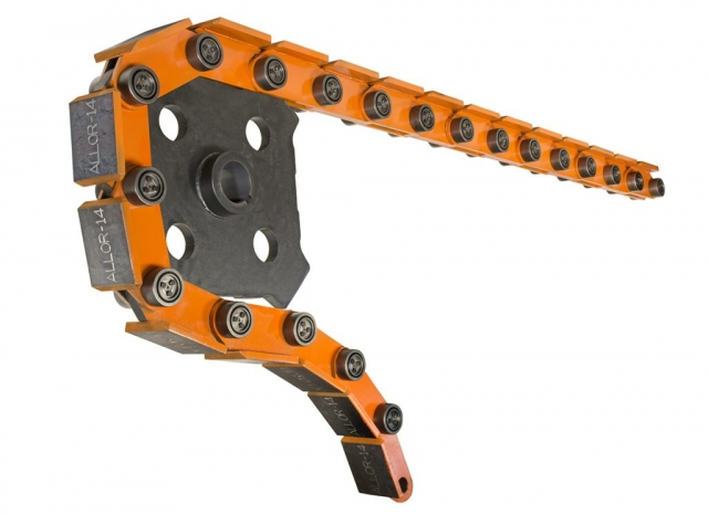 Flat Top Orange Chain Sprocket