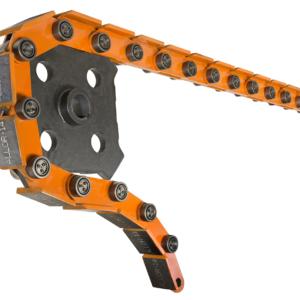 Flat Top Orange Chain Sprocket