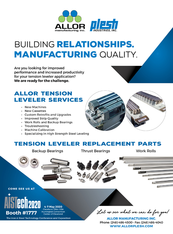 Iron and Steel Magazine March Issue Full Page Ad