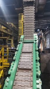 Scrap Metal Conveyor System